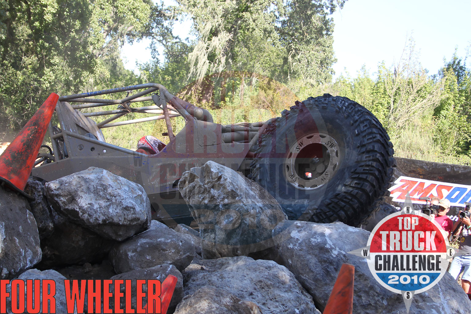 129 1006 4864+2010 top truck challenge mini rubicon+joe quichocho tube chassis cj7 buggy