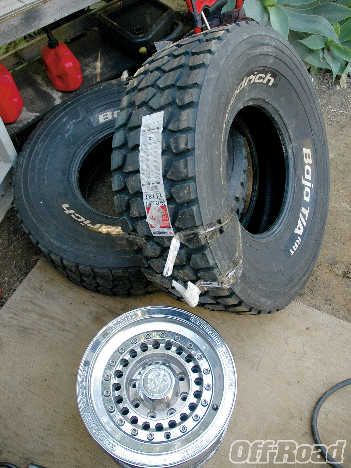 1009or 03 +bfgoodrich baja ta krt tire+tires