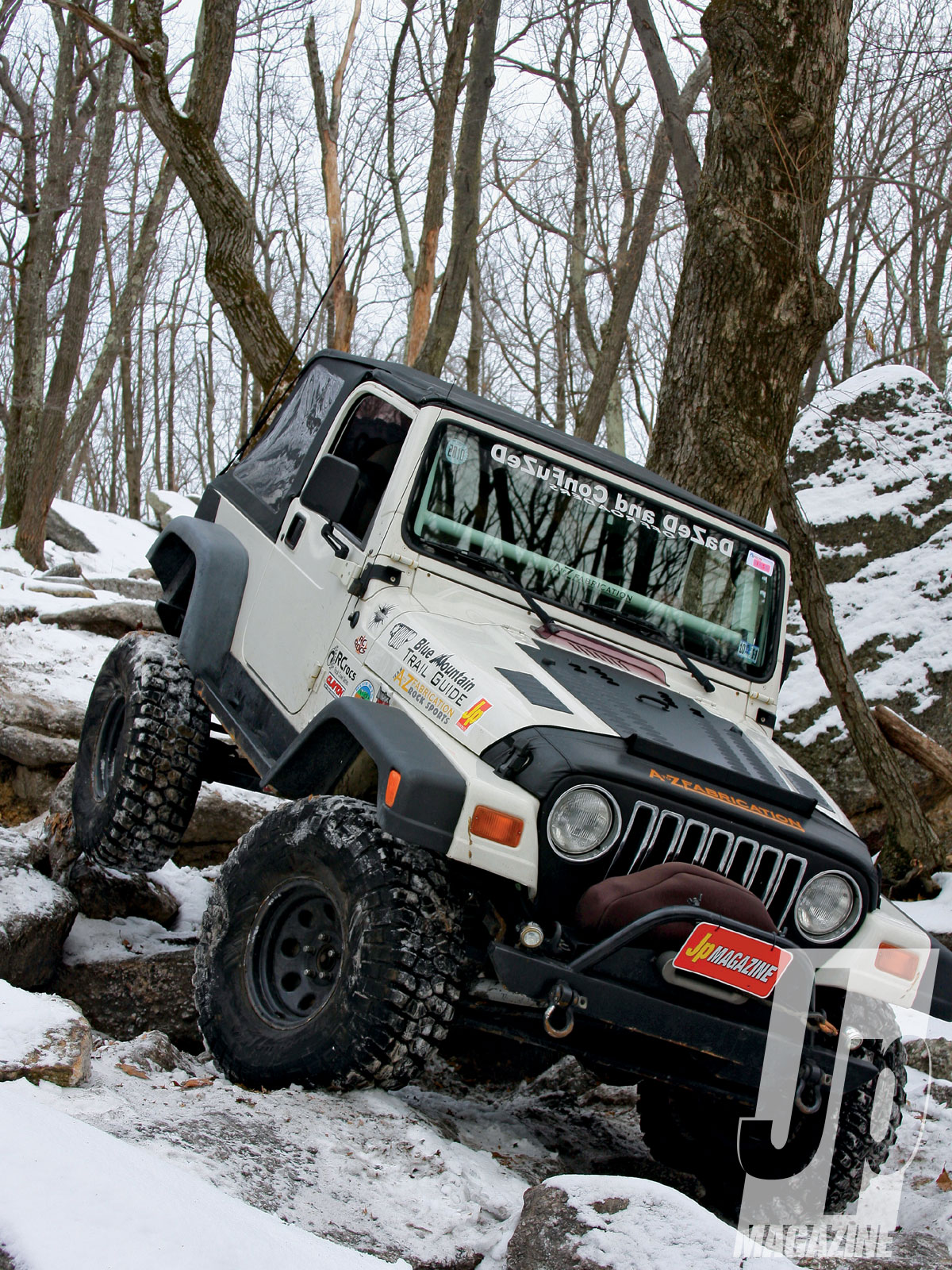 154 1103 06 o+154 1103 snow crawling rausch creek off road park+1999 jeep wrangler tj front shot