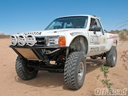 1010or 10 +1983 toyota xtra cab race truck+front left view