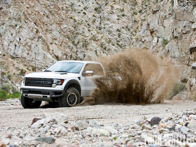 2010 Ford F150 SVT Raptor 6.2 First Drive