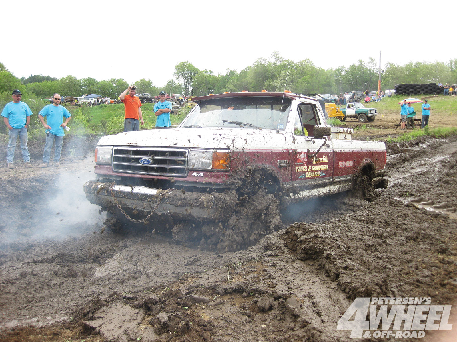 131 1103 06 o+131 1103 backyard mud boggin+1990 ford f350