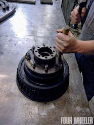 14 bolt disc brake conversion brake lines
