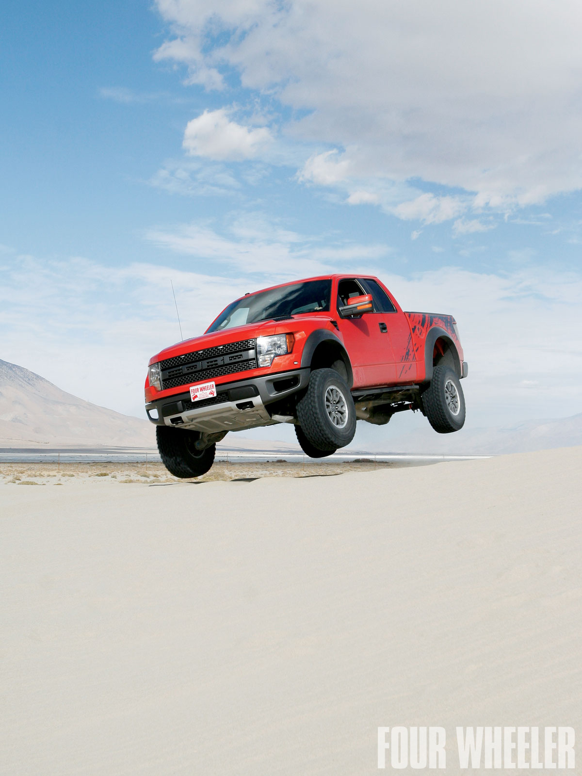 Ford Svt Raptor Front Airborne Shot Photo 30207247