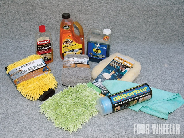 129 0910 03 z+truck washing cleaning+wax kit