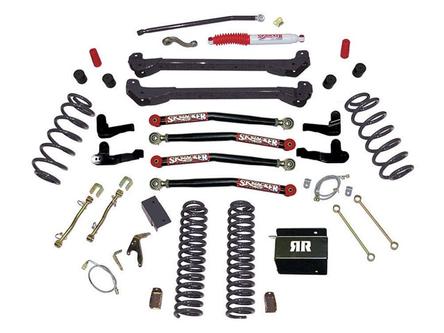 0912 4wd 03+1997 jeep wrangler tj buildup+skyjacker suspension kit