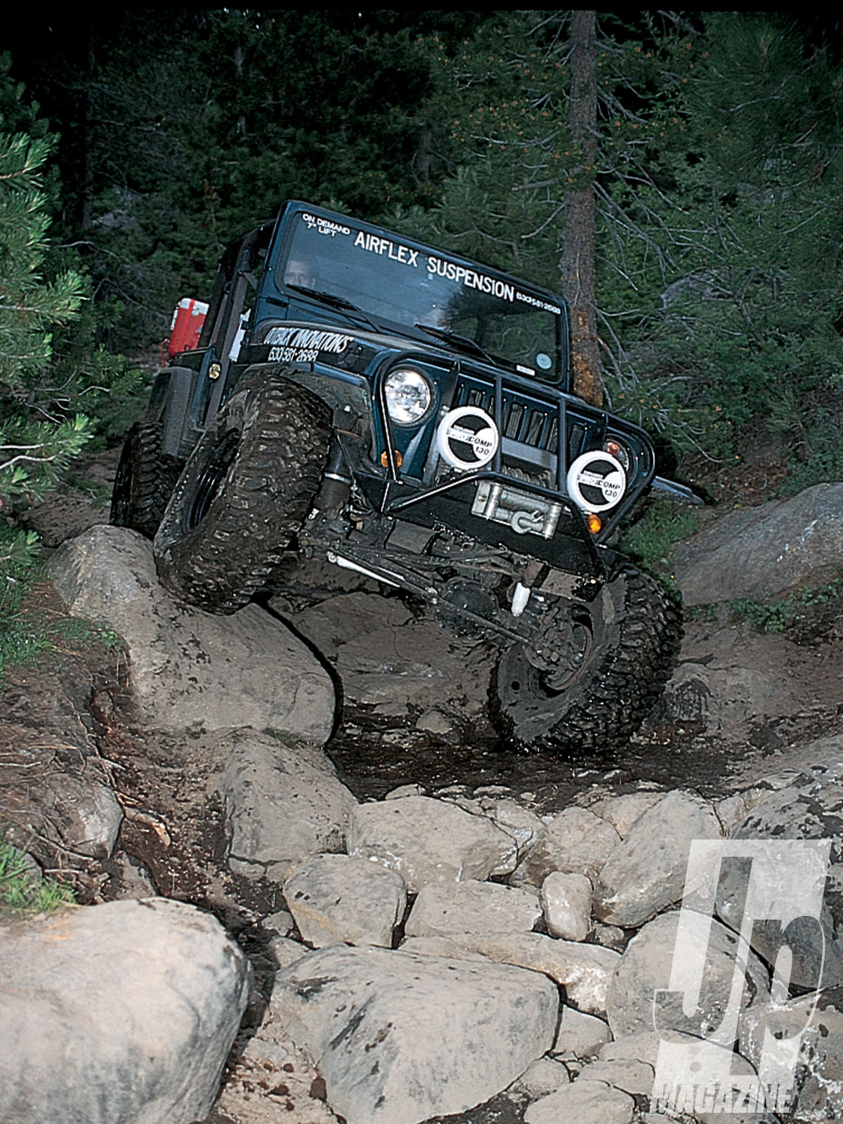 154 9901 11 o+154 9901 rubicon jeep fest+wrangler tj on old sluice