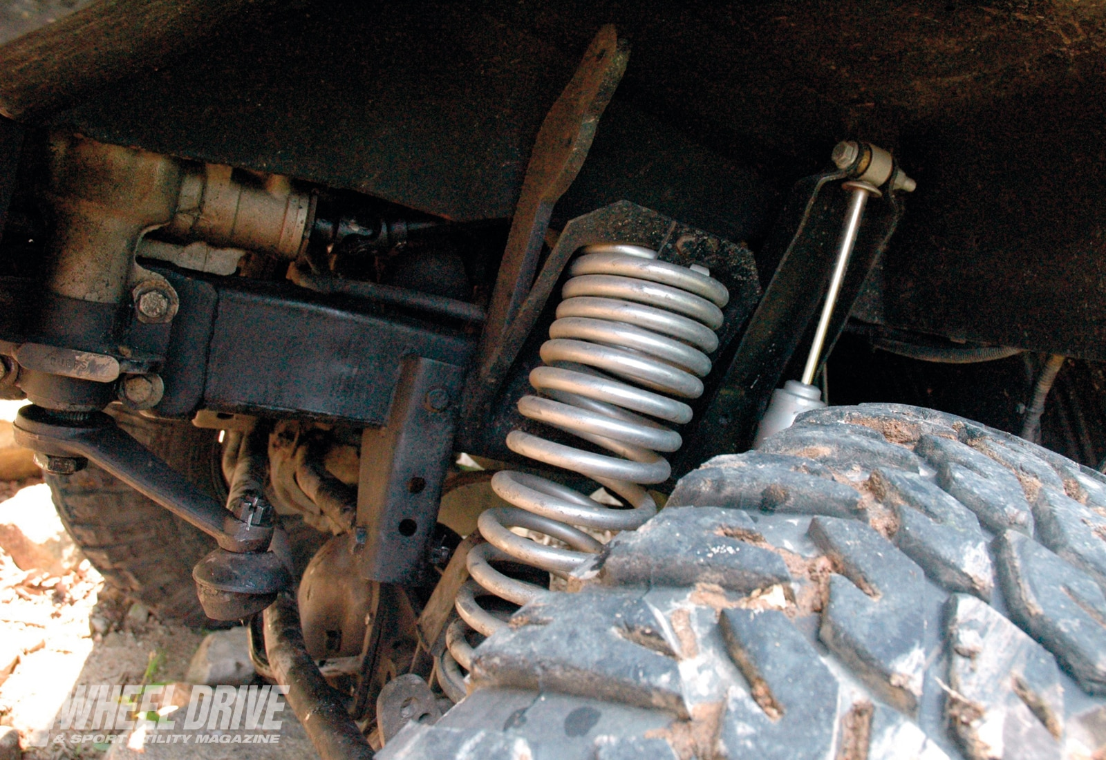 1001 4wd 04+1977 ford bronco+cage off road coils and shocks