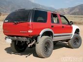 1996 Chevy S10 Blazer Project Truck Suspension Off Road Magazine
