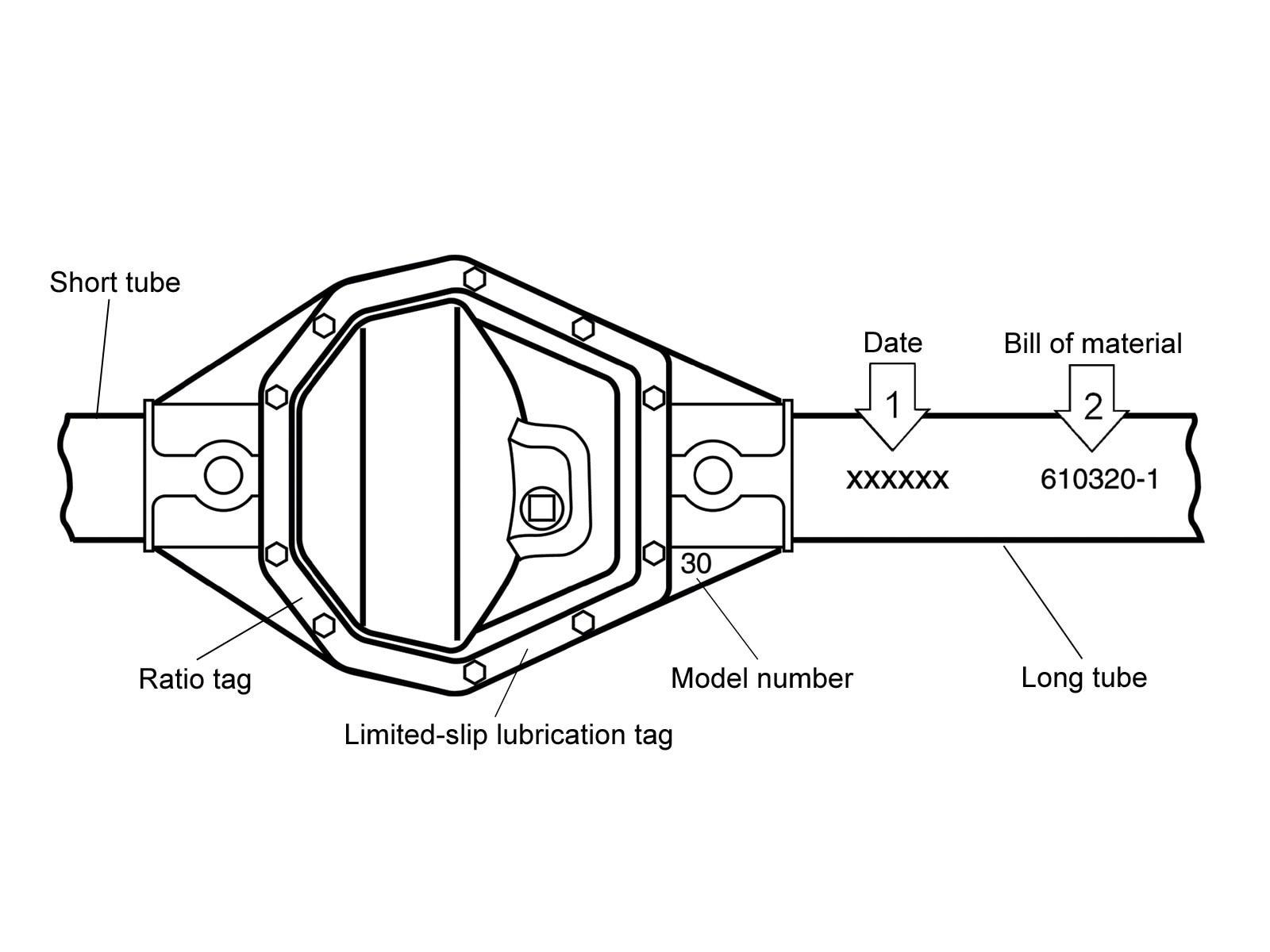 Front Axle Diagram Further Drum Brake Diagram Rear Axle Parts On Dana