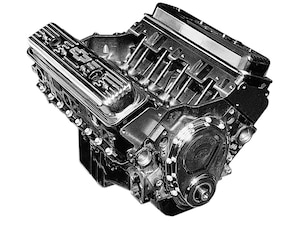Engine: The small-block for this swap is a GM Performance