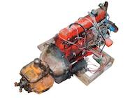 154 0911 01+installing A Inline 6 Engine Jeep Rod+frame