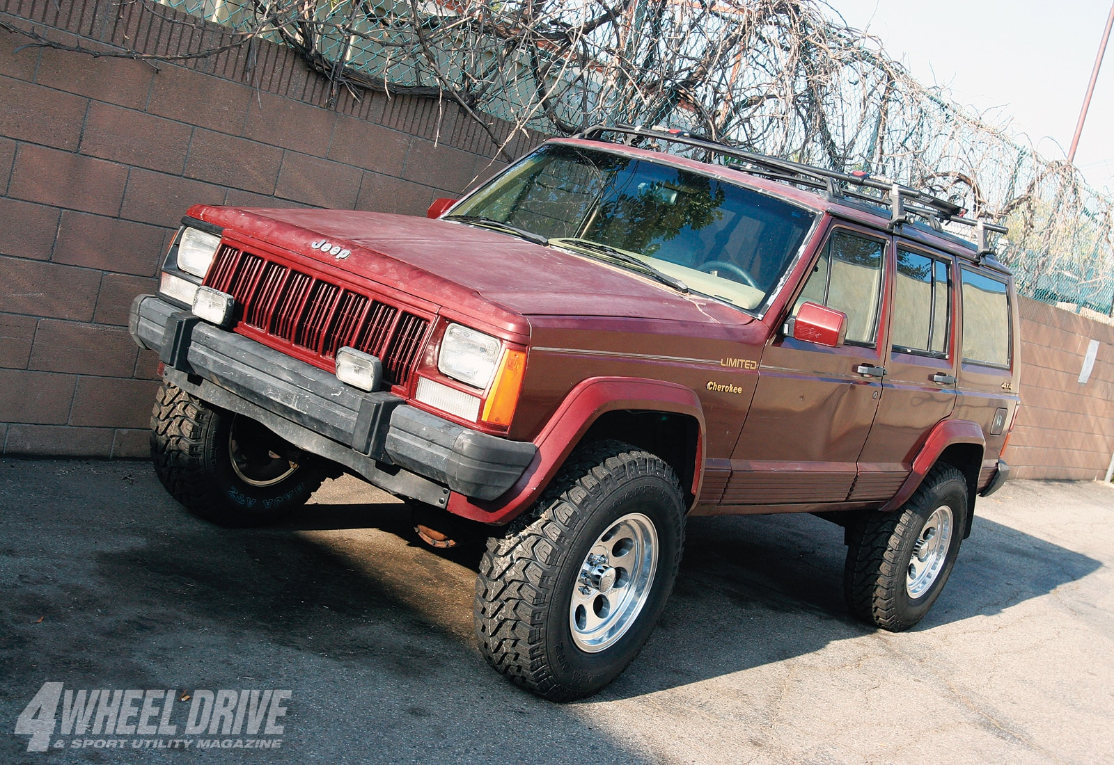 1003 4wd 02+1991 jeep cherokee xj unlimited buildup+after