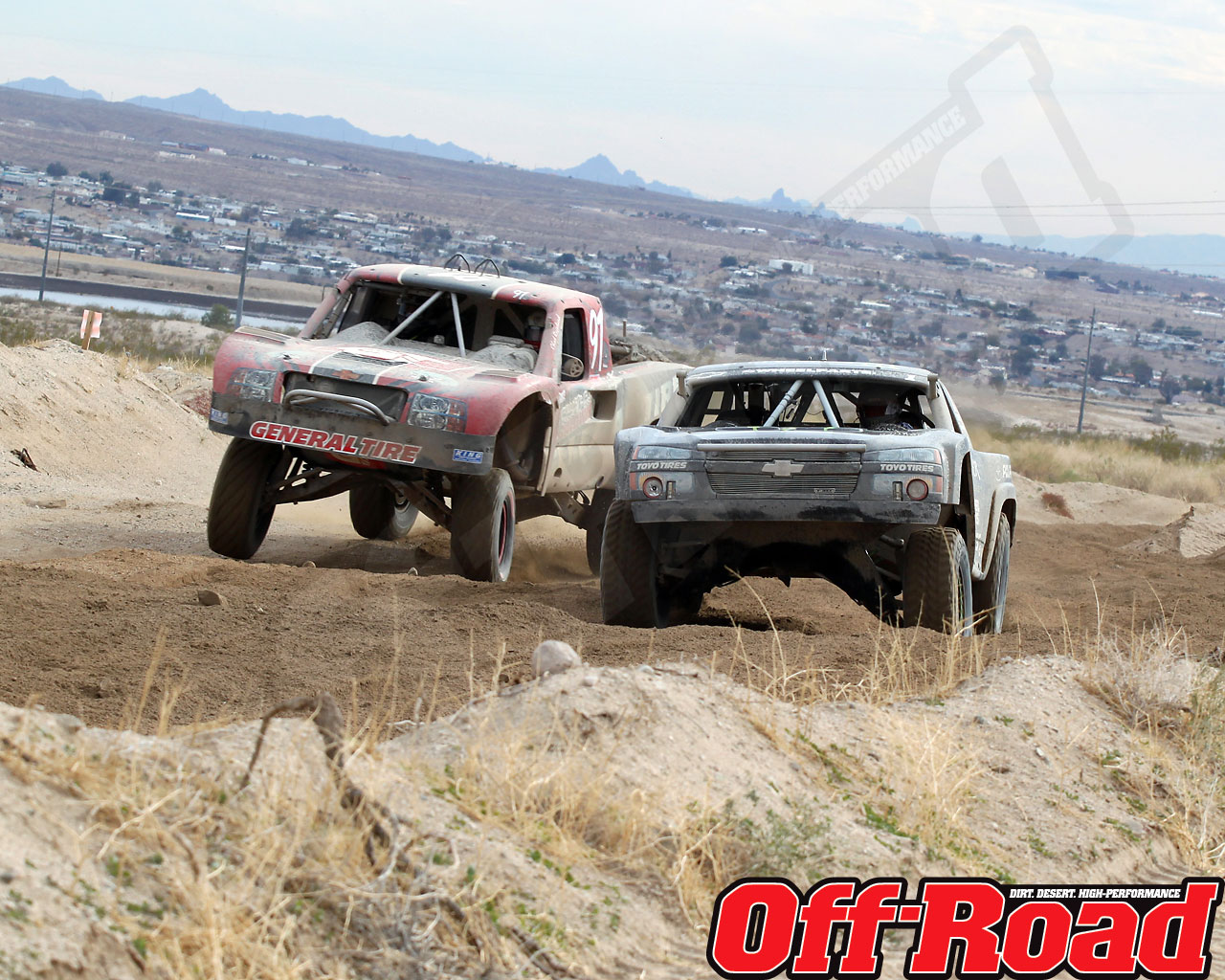 1002or 1422 o+2010 score laughlin desert challenge+trophy truck