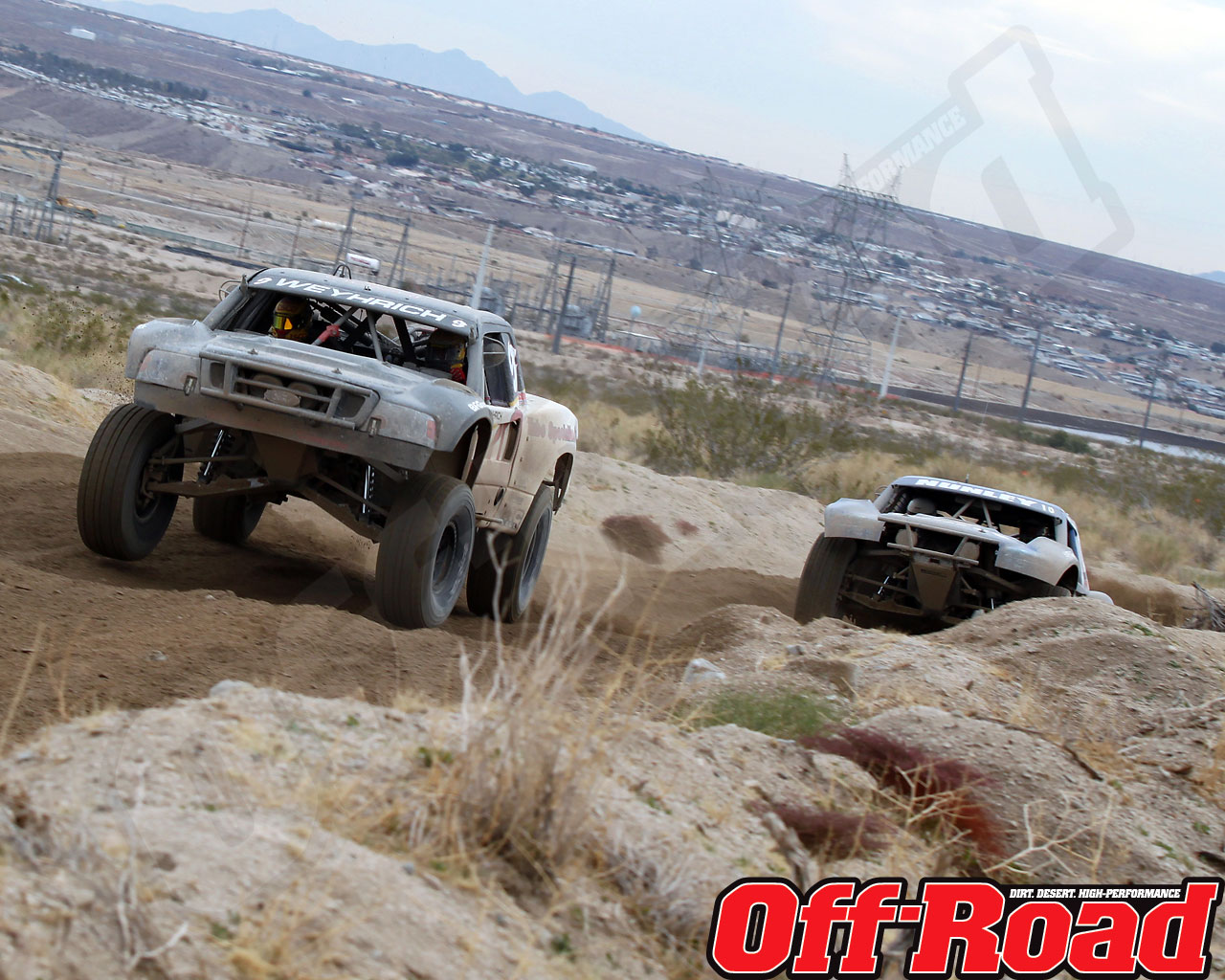 1002or 1444 o+2010 score laughlin desert challenge+trophy truck