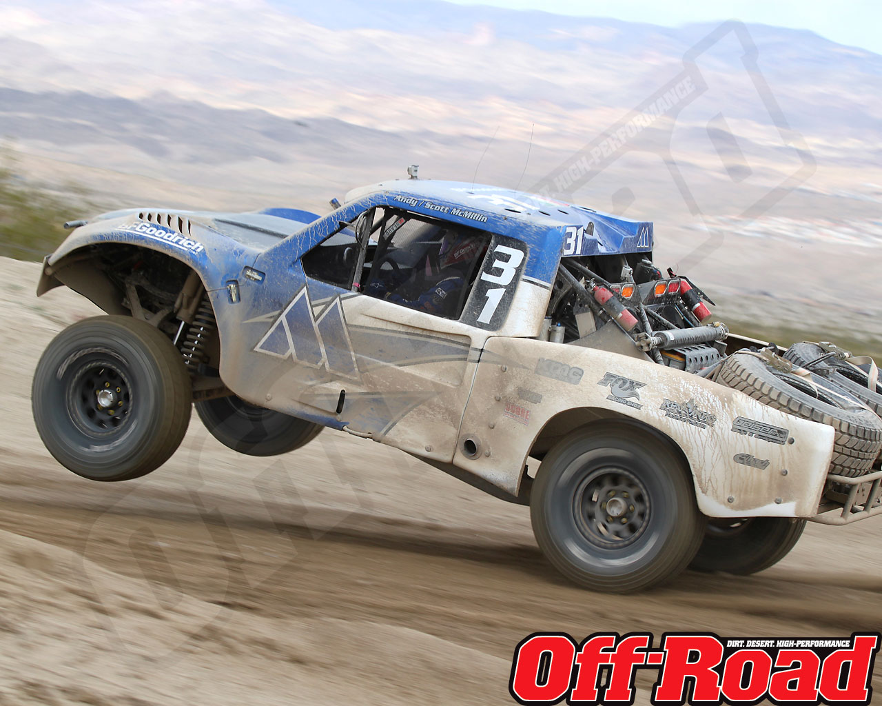 1002or 1474 o+2010 score laughlin desert challenge+trophy truck