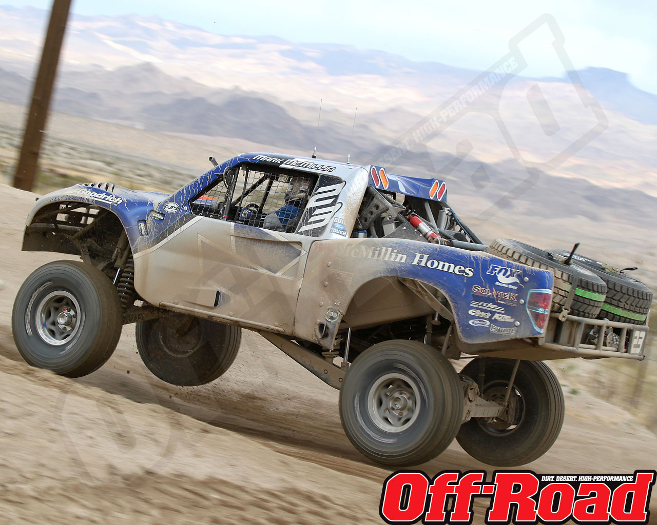 1002or 1481 o+2010 score laughlin desert challenge+trophy truck