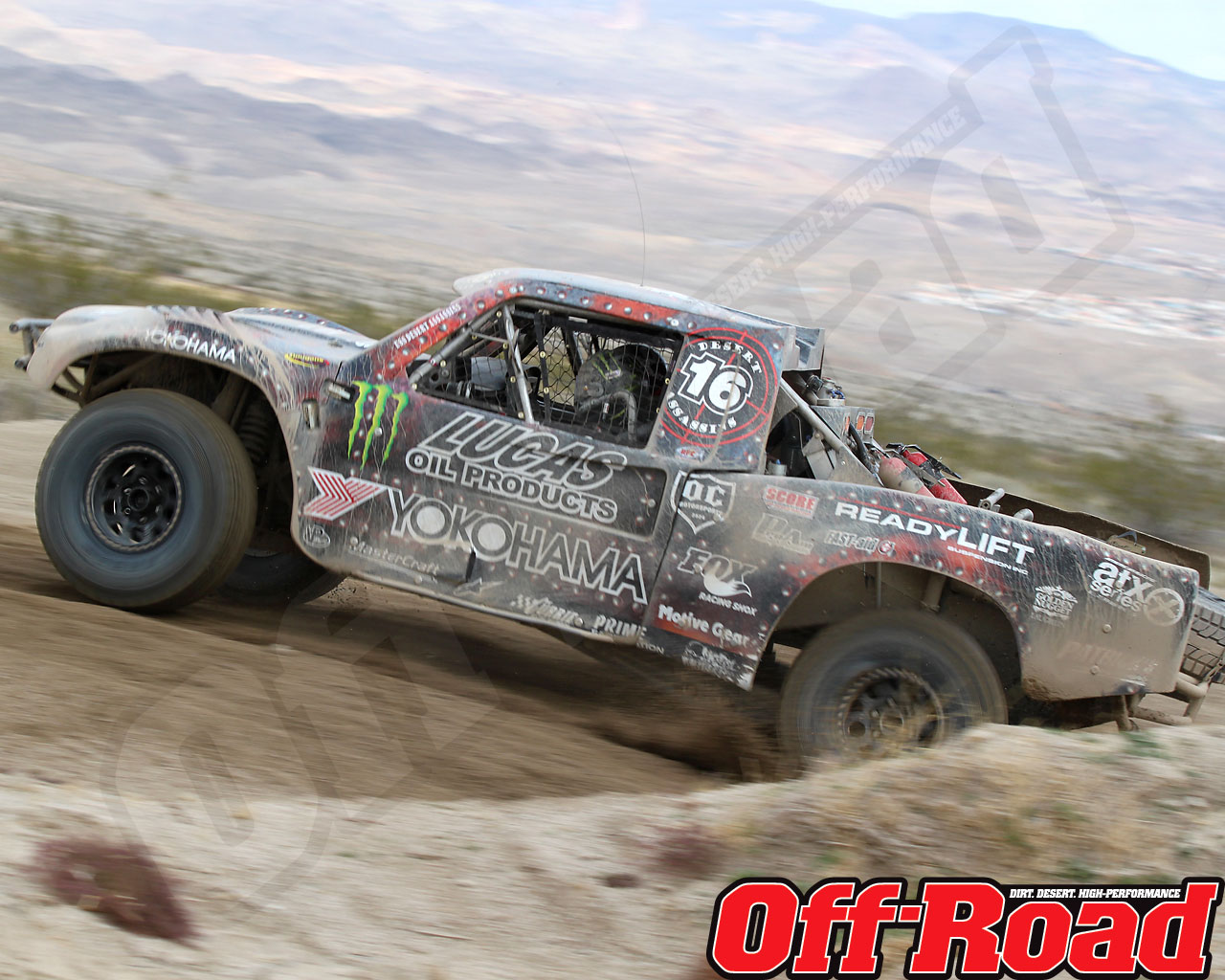 1002or 1487 o+2010 score laughlin desert challenge+trophy truck