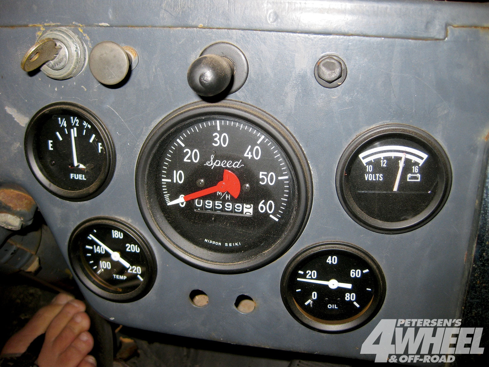 131 1005 11+1948 cj2a gas tank upgrade+gauge cluster