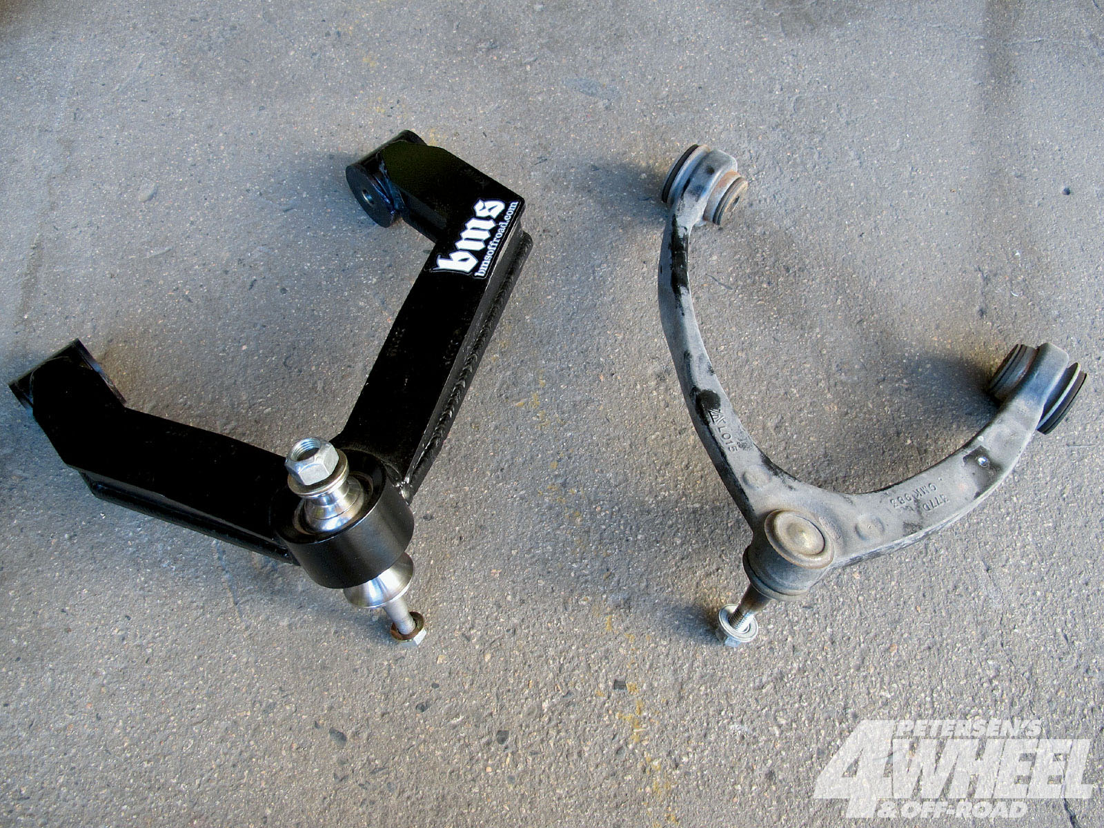 131 1006 03+2001 chevy silverado suspension system+upper a arm