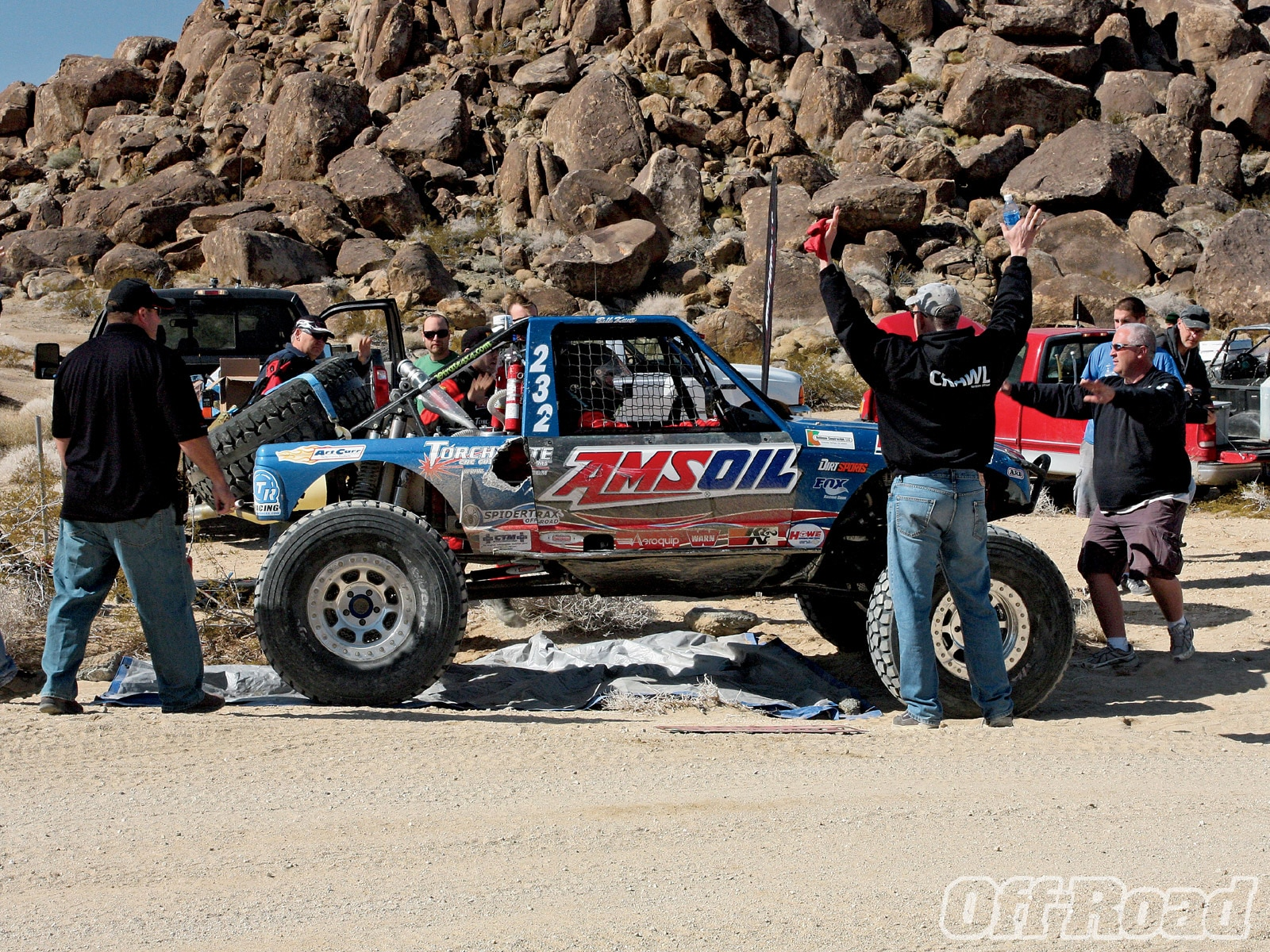 1006or 18 +king of the hammers 2010+amsoil buggy