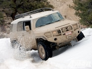131 1007 06+new dot approved general tire grabber+snow test