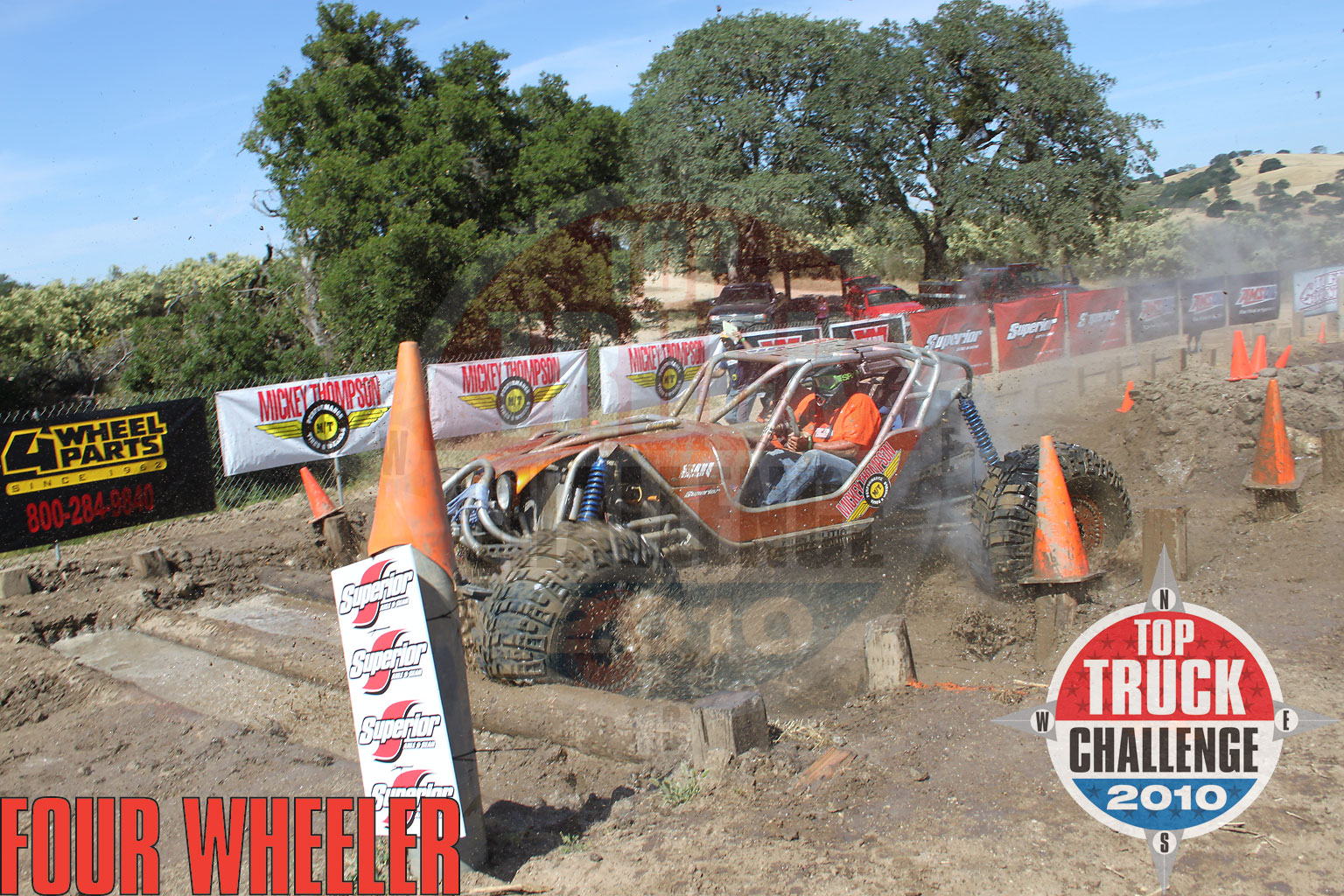 2010 Top Truck Challenge Frame Twister Leo Kuether 2007 Cole Works Fat Girl Buggy