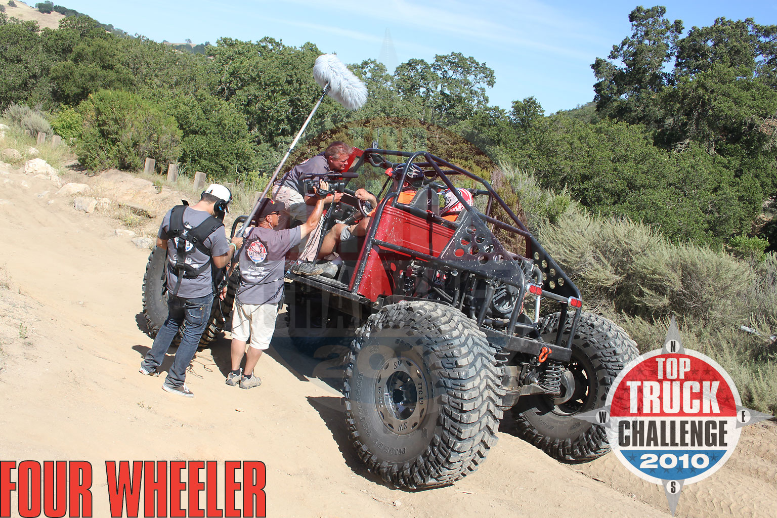2010 Top Truck Challenge Frame Twister Pj Hale 1948 Willys Buggy
