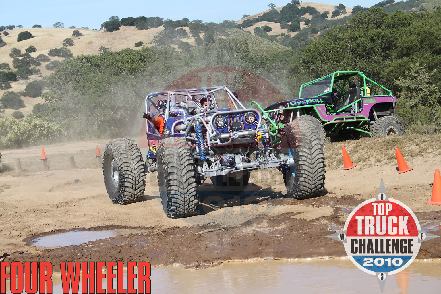 129 1006 4225+2010 top truck challenge frame twister+joe quichocho tube chassis cj7 buggy