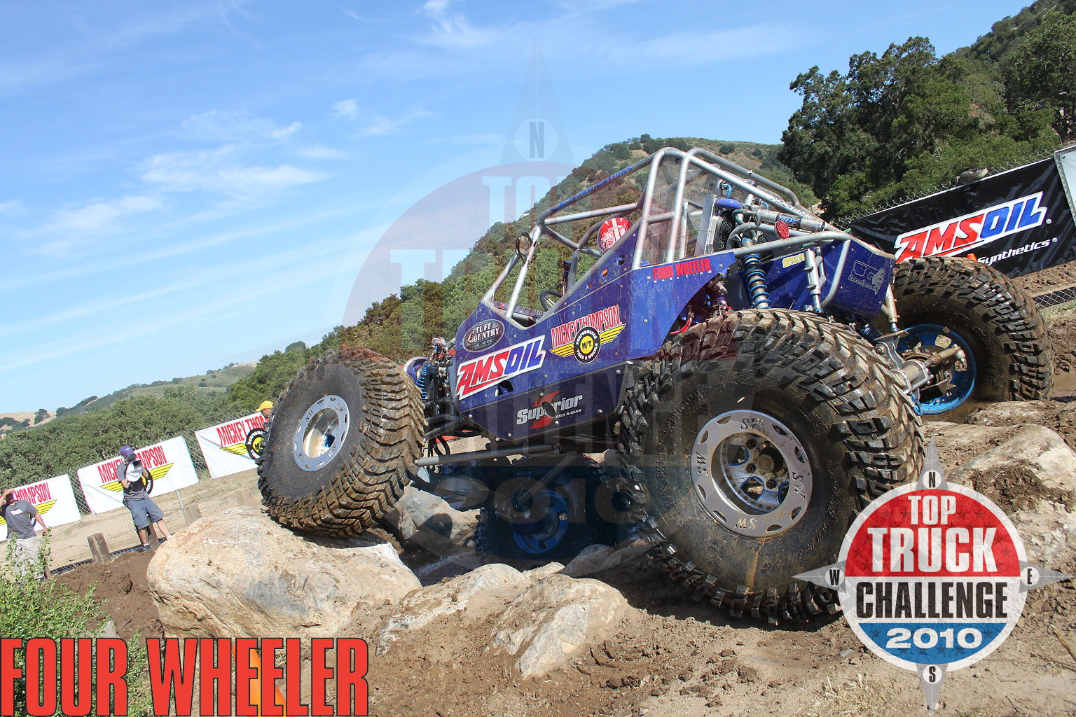 2010 Top Truck Challenge Frame Twister Joe Quichocho Tube Chassis Cj7 Buggy