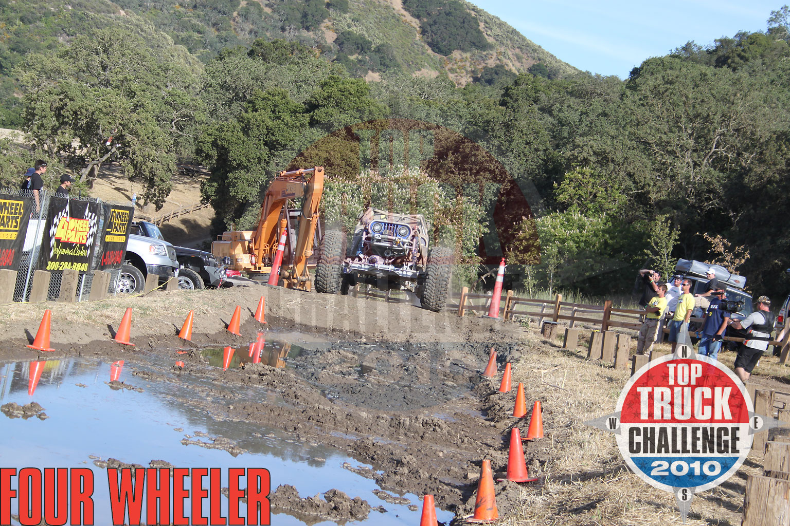 2010 Top Truck Challenge Mud Pit Joe Quichocho Tube Chassis Cj7 Buggy