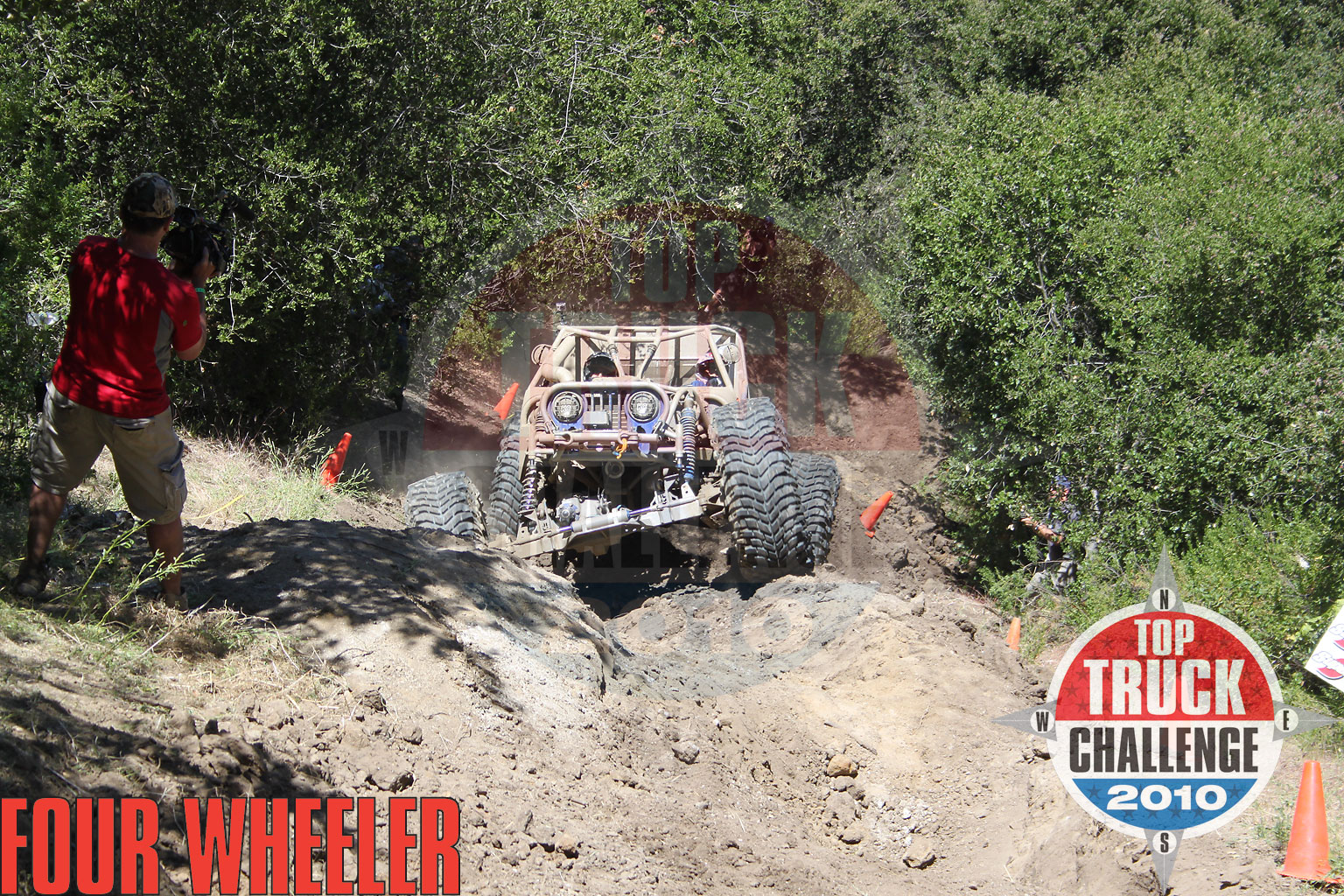 2010 Top Truck Challenge Hill Climb Joe Quichocho Tube Chassis Cj7 Buggy