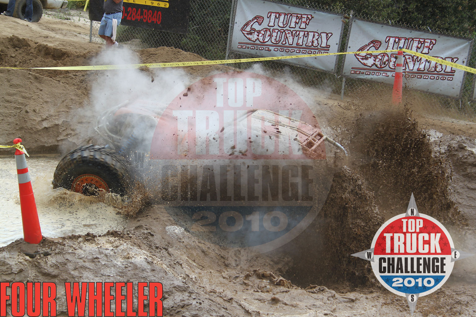 2010 Top Truck Challenge Obstacle Course Leo Kuether 2007 Cole Works Fat Girl Buggy