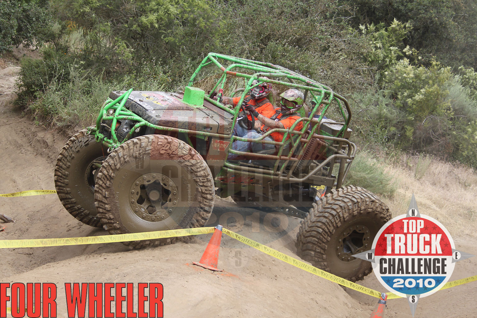 2010 Top Truck Challenge Obstacle Course Ryan Knoche 1990 Suzuki Samurai Buggy
