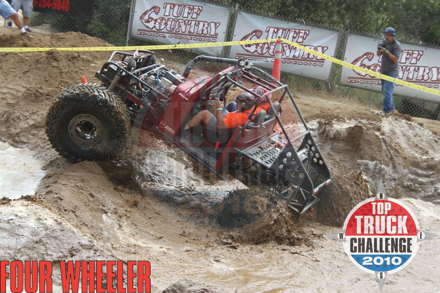 2010 Top Truck Challenge Obstacle Course Pj Hale 1948 Willys Buggy