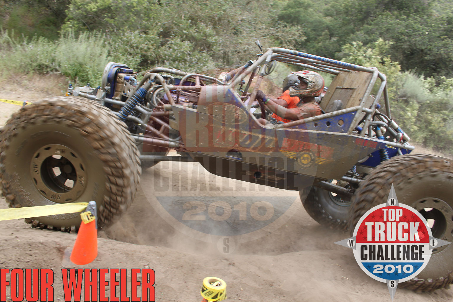 2010 Top Truck Challenge Obstacle Course Joe Quichocho Tube Chassis Cj7 Buggy