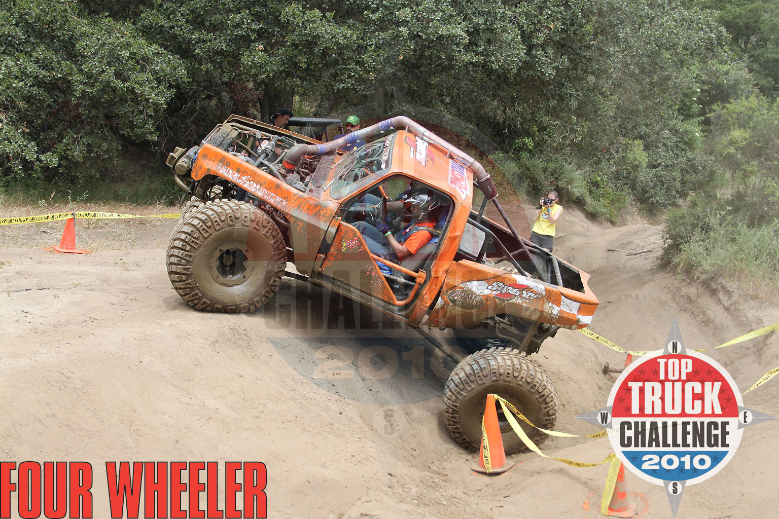 2010 Top Truck Challenge Obstacle Course Jason Gray 1975 Chevy Blazer