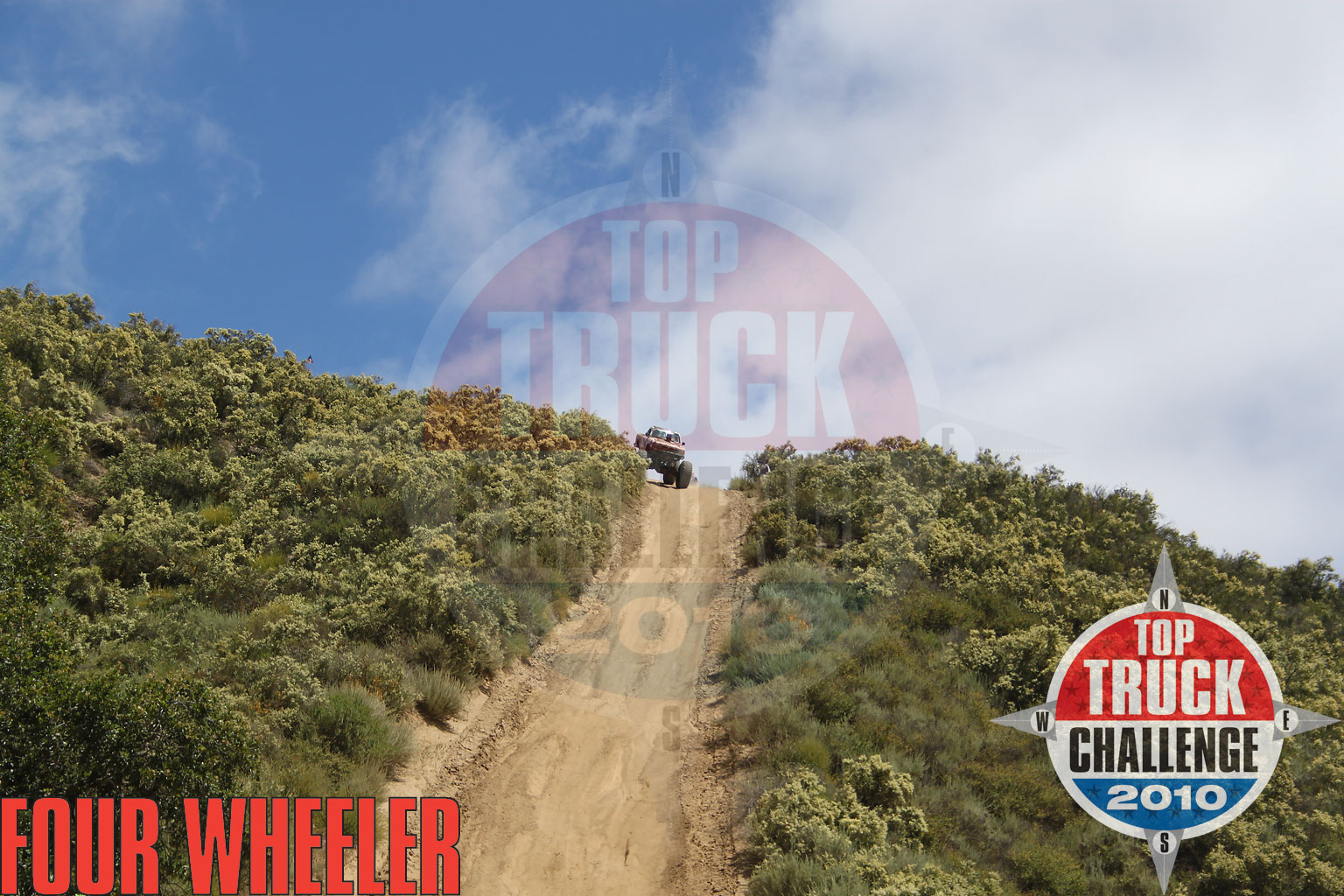 2010 Top Truck Challenge Obstacle Course Brian Barker 1993 Ford Ranger
