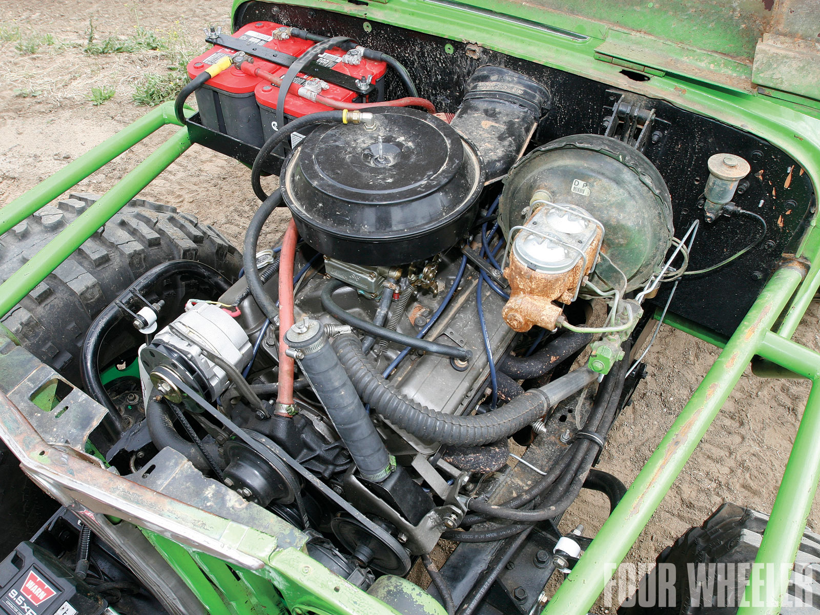 Steven Montpas 1949 Willys Pickup Engine Shot