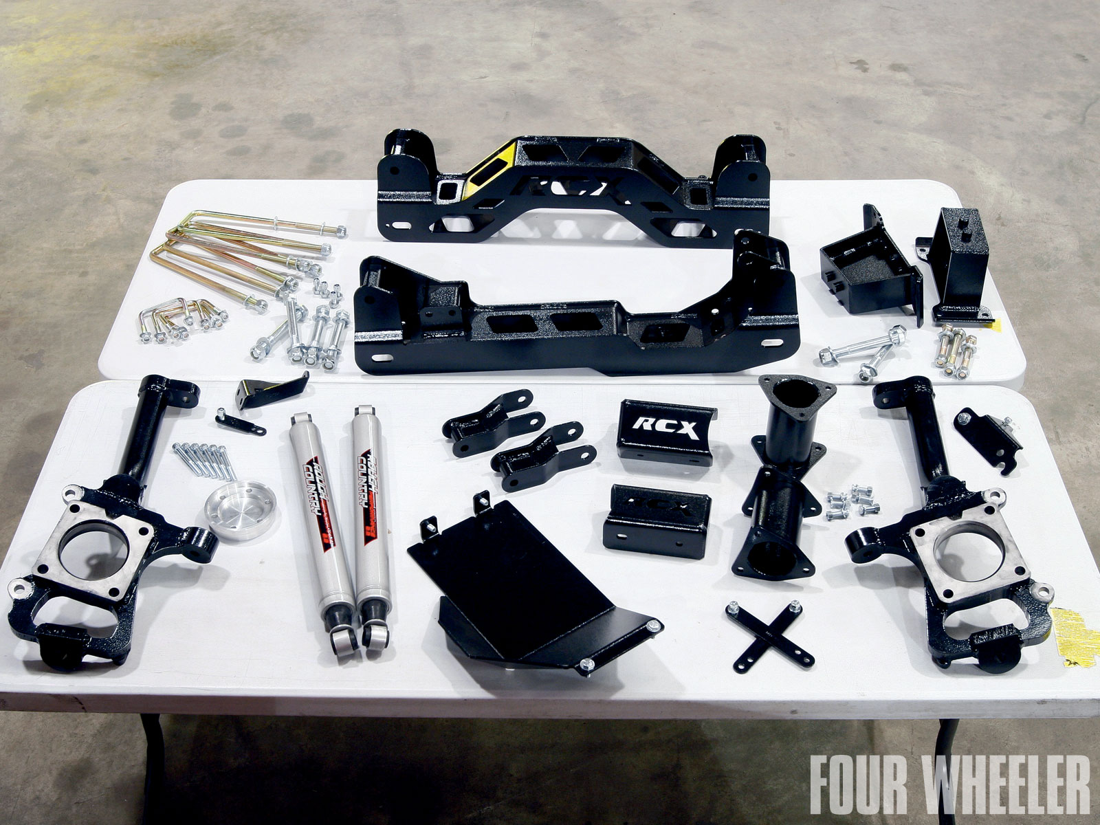rough Countrys 4 Inch Suspension Lift lift Kit Table Photo 34183965