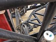 Chris found his Ford 9-inch rear axle housing in a junkyard