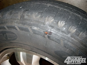 What Time Does Discount Tire Close >> Our Old Tires Were Getting Way Thin And Sidewall Plugs Like This