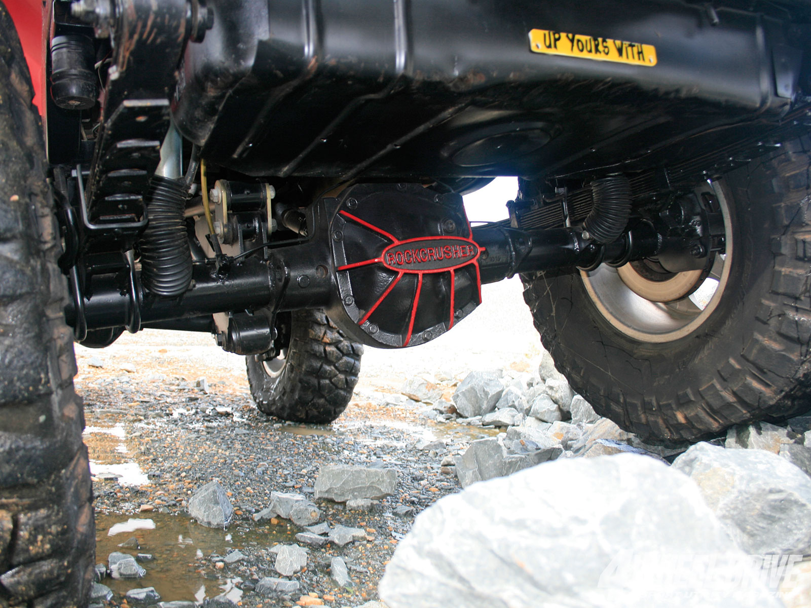 1011 4wd 08+1997 jeep wrangler TJ+rockCrusher dana 60 rear axle