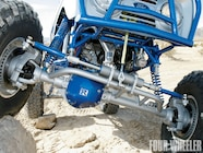 Up front is a trussed Dana 60 axle from a '79 1-ton GM