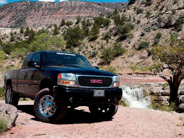 2001 GMC Sierra Denali C3 - Rough Country Denali
