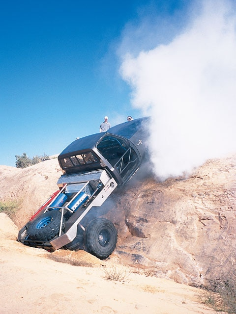 0602or 03 z+annual chevy k5 blazer bash moab off road+custom truck