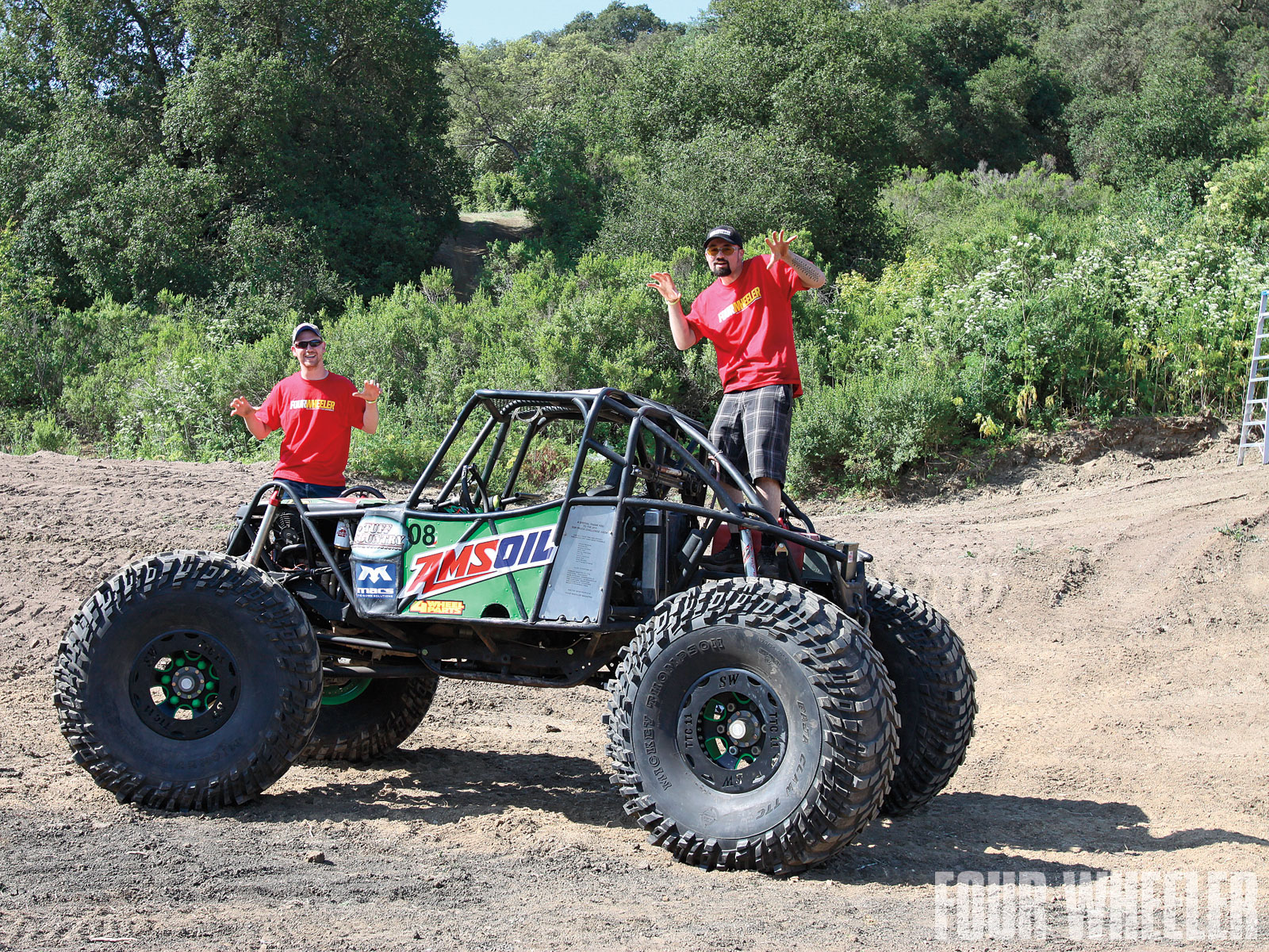 Josh Hall Suzuki Samurai Buggy Buggy Side Shot