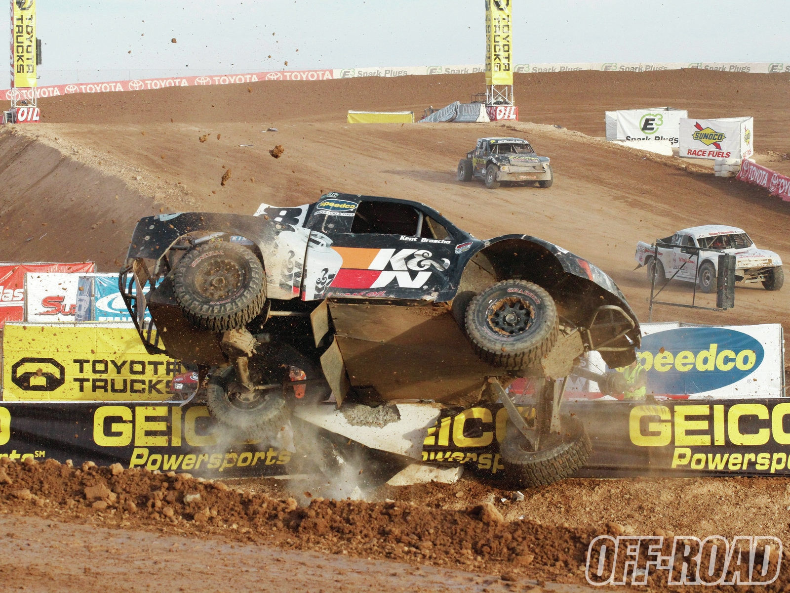 1204or 10+lucas oil off road racing+offroad vehicle flip