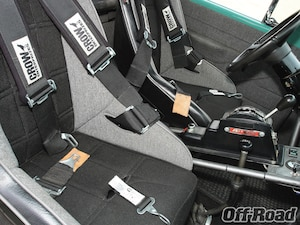 Mastercraft high-back suspension seats replace whatever old