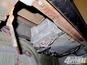 wiring the engine was the easiest step of the whole process  everything in  the pacific fabrication wiring harness